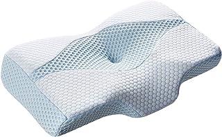 MyeFoam 新世代 低反発枕 枕 安眠 人気 肩こり 頚椎安定 快眠枕 仰向き 横向き対応 プレゼント 通気性抜群 洗える 抗菌 防臭