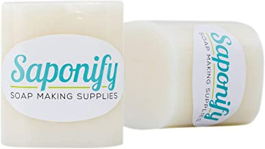 2LB Goat's Milk Melt and Pour Soap Base | Make Your Own Gentle Detergent-Free Glycerine Soaps with Professional Grade Base by Saponify