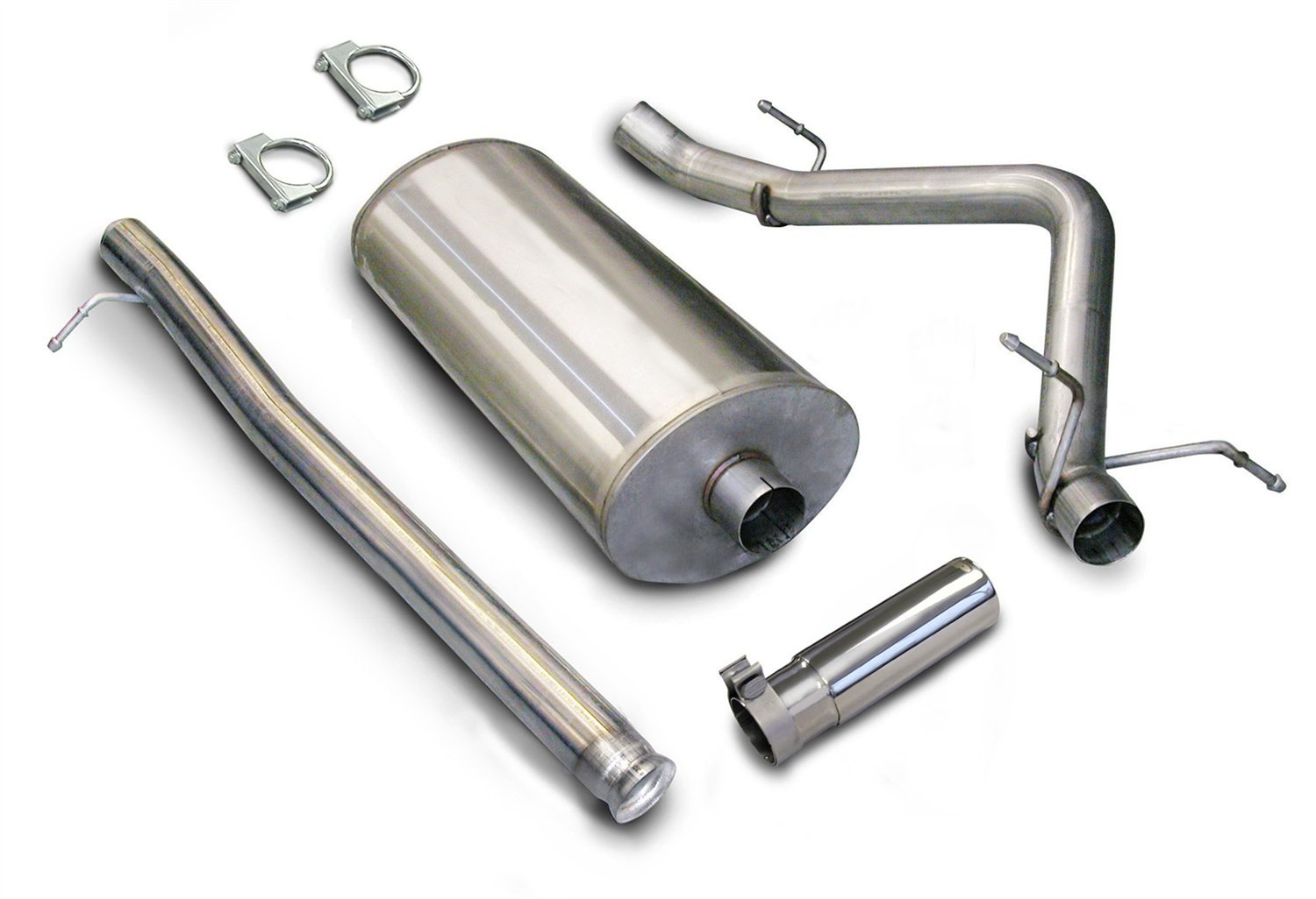 CORSA 24259 Stainless Steel Single Side Exit Cat-Back Exhaust System Kit