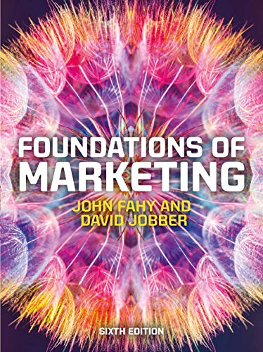 EBOOK: Foundations of Marketing, 6e (UK Higher Education