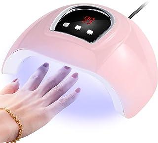 Dibiao Lámpara de Uñas Uv Led con Máquina de Secado Profesional Profesional con Sensor Automático de 3 Temporizadores para Esmalte de Gel