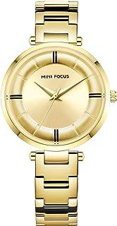 MINI FOCUS Woman Quartz Watches Stainless Steel