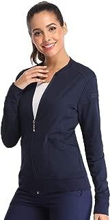 navy scrub jacket