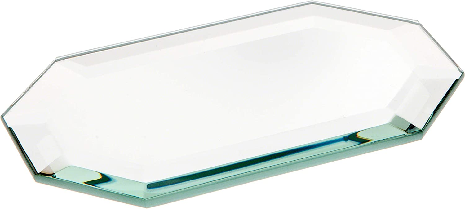 Plymor Long Octagon 5mm Beveled Glass Japan's largest assortment Mirror x 5 3 Recommended inch