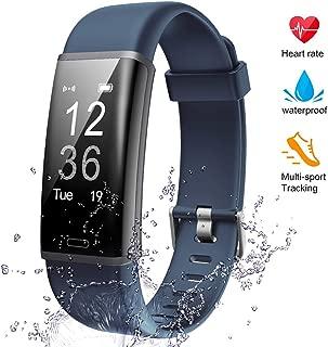 Lintelek Fitness Tracker Heart Rate Monitor, Activity...