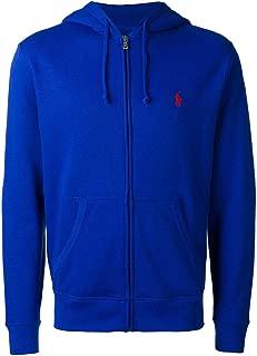 polo bear hoodie blue