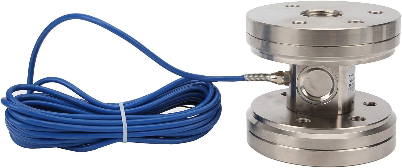 Celda de carga de presión Eujgoov PSD-FL 20 toneladas Sensor de pesaje electrónico Sensor de fuerza de presión para básculas de llenado