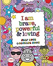 Elmer Smiles: I Am Brave, Powerful and Loving: Self Love Coloring Book for Kids