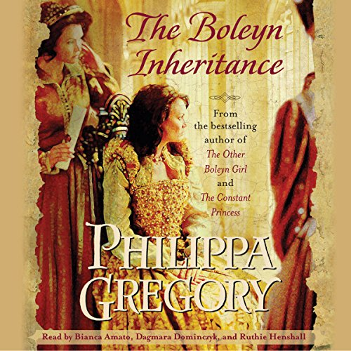 Boleyn Inheritance audiobook cover art