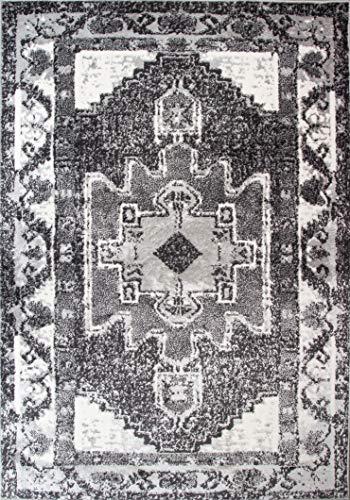 The Rug House Moderna Alfombra de Estilo Azteca y marroqui con diseño...