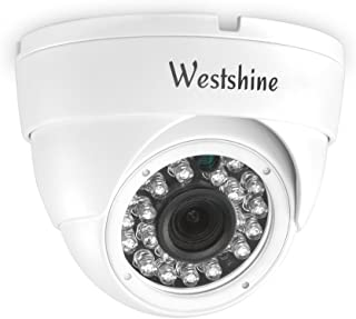 Westshine 5MP AHD Dome Camera 4MP TVI/CVI Security Camera IR Nightvision 3.6mm HD Lens Wide View Angle Indoor/Outdoor-Fit ...