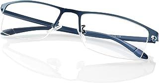 Blisswee ブルーライトカット メガネ パソコン用メガネpcメガネ おしゃれ 眼鏡 有害光線カット 度なし クリアレンズ 男女兼用uvカットブルーライト防止 超軽量
