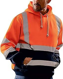 Nitras Motion Tex Plus Cuello Alto Jersey de Hombre Sudadera de Trabajo