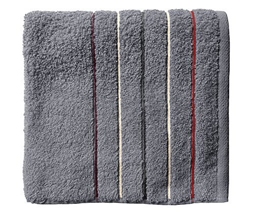 Santens Serviette de Toilette, Coton, Silex, 50x100 cm