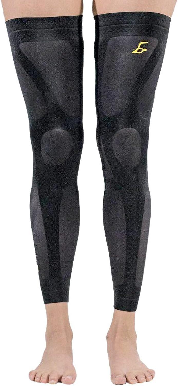 Enerskin Unisex Compression Knee Sleeves (Set)