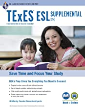 TExES ESL Supplemental (154) Book + Online (TExES Teacher Certification Test Prep)