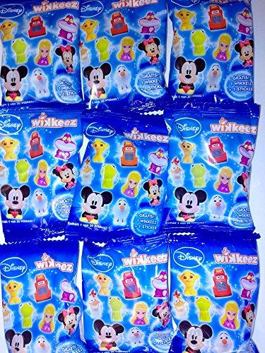 20 Tüten REWE Disney Sammelaktion WIKKEEZ NEU OVP 2014