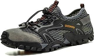 GBZLFH Zapatos de Senderismo para Hombres, Zapatos de Agua de Secado rápido de Malla de Verano, Transpirables y Antidesliz...