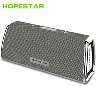 NETBOON Hopestars 10W Portable Mega Bass Bluetooth V4.2 BT Speaker with Big Li-ion Battery 2 HD Sound Subwoofer Compatible with All Android Smartphones/Tablets and Apple iPhones