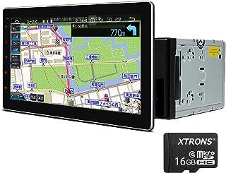 カーナビ 2din XTRONS Android10 車載PC 10.1インチ大画面 4コア 2GB+32GB ゼンリン地図付 Carautoplay 対応 カーオーディオ Bluetooth GPS wifi 4G OBD2 DVR 映像入力...