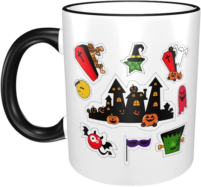 Elegant Halloween 11oz Large Coffee Mugs Exqu Cup Ceramics wholesale Fashion Print