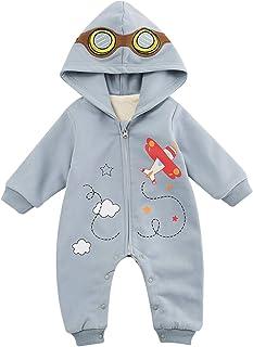 Famuka Baby Kleidung Jungen Mädchen Winter Strampler Neugeborenen Spielanzug