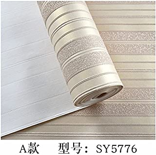Axb-dmg Modern Simple Stereoscopic Sandstone Non-woven Plain Striped Bedroom Living Room Wallpaper