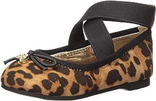 حذاء باليه مسطح للفتيات الصغيرات من Jessica Simpson