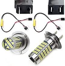 iJDMTOY Xenon White Error Free 68-SMD H7 High Beam LED Daytime Running Light Kit For BMW E82/E88/F20 1 Series, E90/E91 3 Series, E60/F10 5 Series, E84 X1, F25 X3 etc