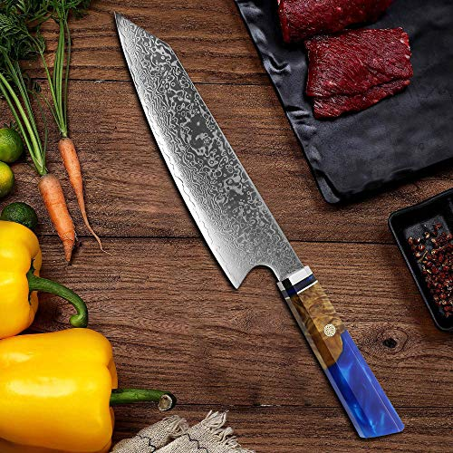 Cuchillos Cocina Damasco cuchillos cocina  Marca ZERAY