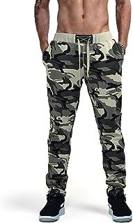 AIMPACT Camouflage Jogger Pants for Men Casual Sweatpants Active Elastic Cotton Pants