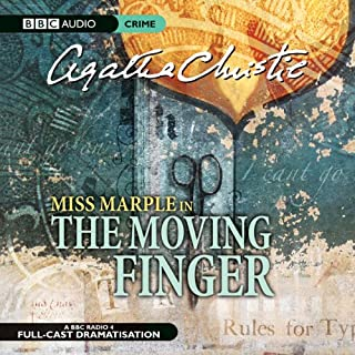The Moving Finger (Dramatised) audiobook cover art