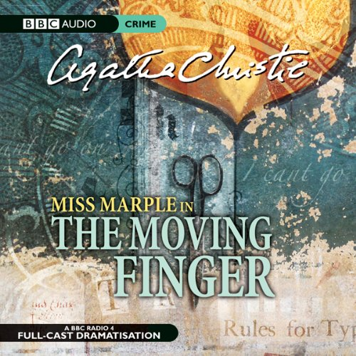The Moving Finger (Dramatised) cover art
