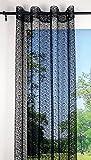 Lovely Casa R66505006VL Spider - Cortina de Visillo (140 x 250 cm, algodón),...