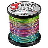 Tresse Daiwa J Braid 8 brins 500 m Multicolore 24/100