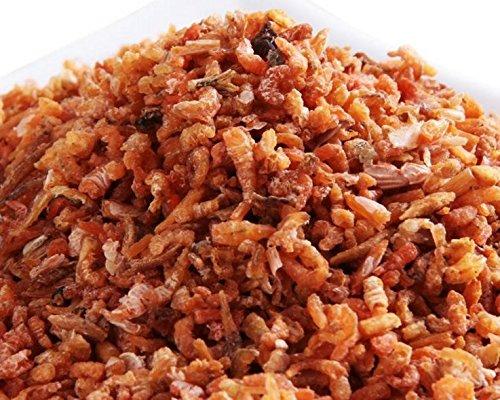 南シナ海からの乾燥魚介類小型のエビの肉750 g