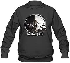 SAMMOI Tom Clancy's Game Rainbow Men's Sport Fleece Sweatshirt Black