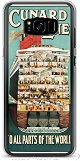Vintage poster - Cruise Ship 1603 - Samsung Galaxy S8 Plus Phone Case