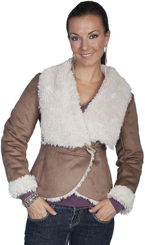 Scully Women's Faux Fur Wrap Jacket - 8035 Haz