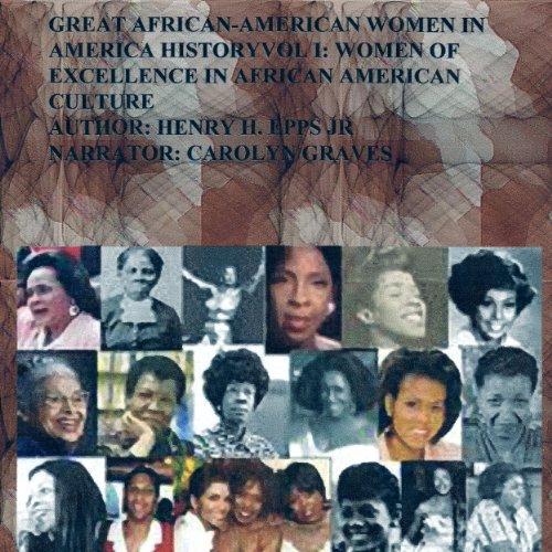 Great African-American Women in America History audiobook cover art