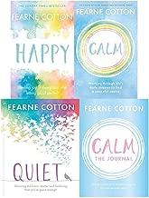 Fearne Cotton 4 Book Set Collection - Happy, Calm, Calm The Journal, Quiet