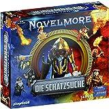 PLAYMOBIL Caja 70736 Novelmore La búsqueda del Tesoro con 5 Juegos Novelmore, Libro de Cocina y Cuaderno, a Partir de 6 años [Exclusivo en Amazon]