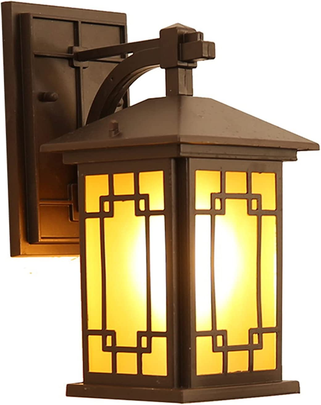 Tanktoyd Retro Outdoor Daily bargain sale Wall Lamp Waterproof Chinese Fitting Tampa Mall