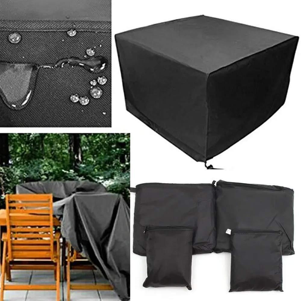 Wuxingqing Cubiertas para Muebles de Jardín 210D Oxford Silla de Lluvia Tabla Polvo Refugio Protector al Aire Libre Patio Muebles de jardín Cubierta Impermeable para Muebles de Jardín y Patio: Amazon.es: Hogar