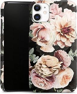 Premium Case compatibel met Apple iPhone 11 Telefoonhoesje Smartphonehoesje glanzend Bloesem Vintage Bloemen