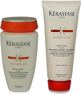 Kérastase Bain Satin 1 & Lait Vital (Shampoo & Conditioner) Duo by Kerastase