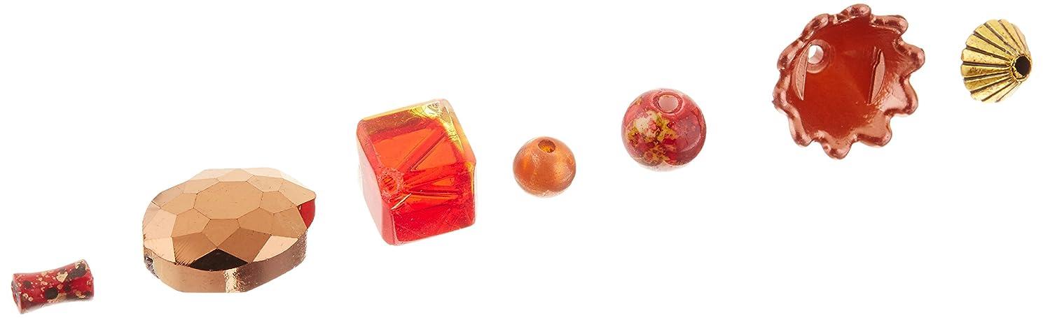 Jesse James Beads 5903 Design Elements Taj Mahal, Red