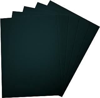Folia 23590 - Goma Espuma de 29 x 40 cm, 5 Hojas, Negro
