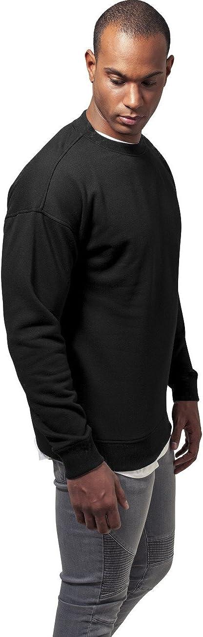 Urban Classics Sweat Crewneck Pull Homme Noir (Black 7)