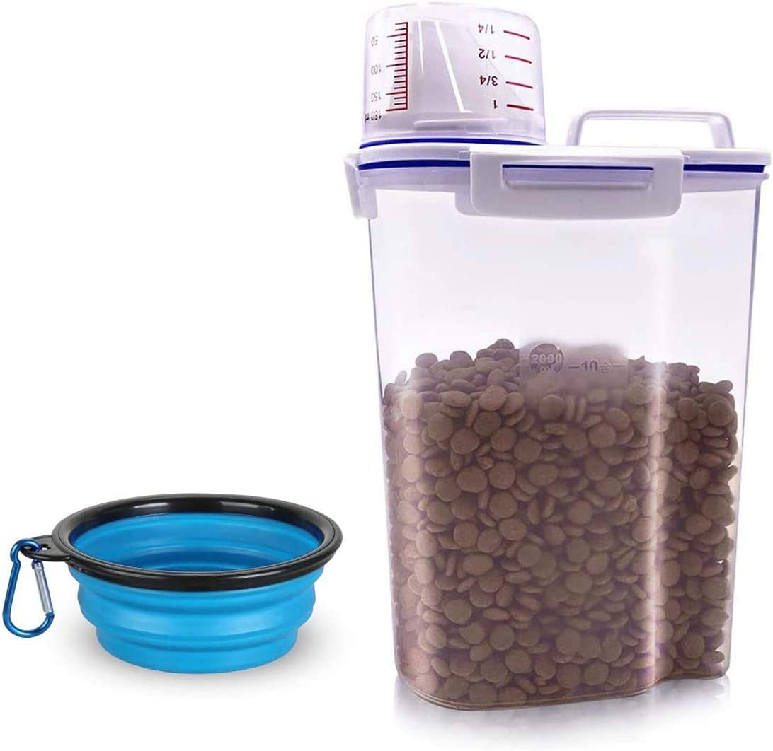 TIOVERY Pet Food Storage Container